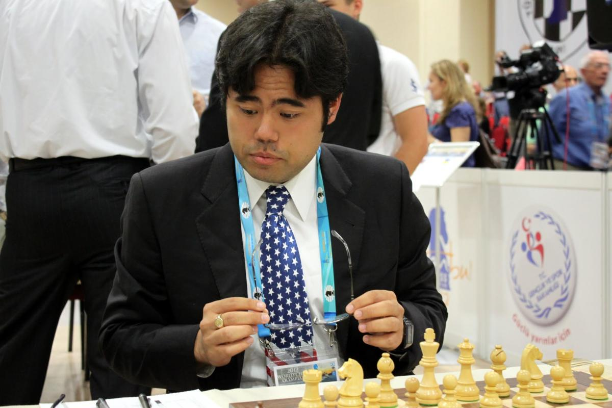 Nakamura at World Chess Olympiad